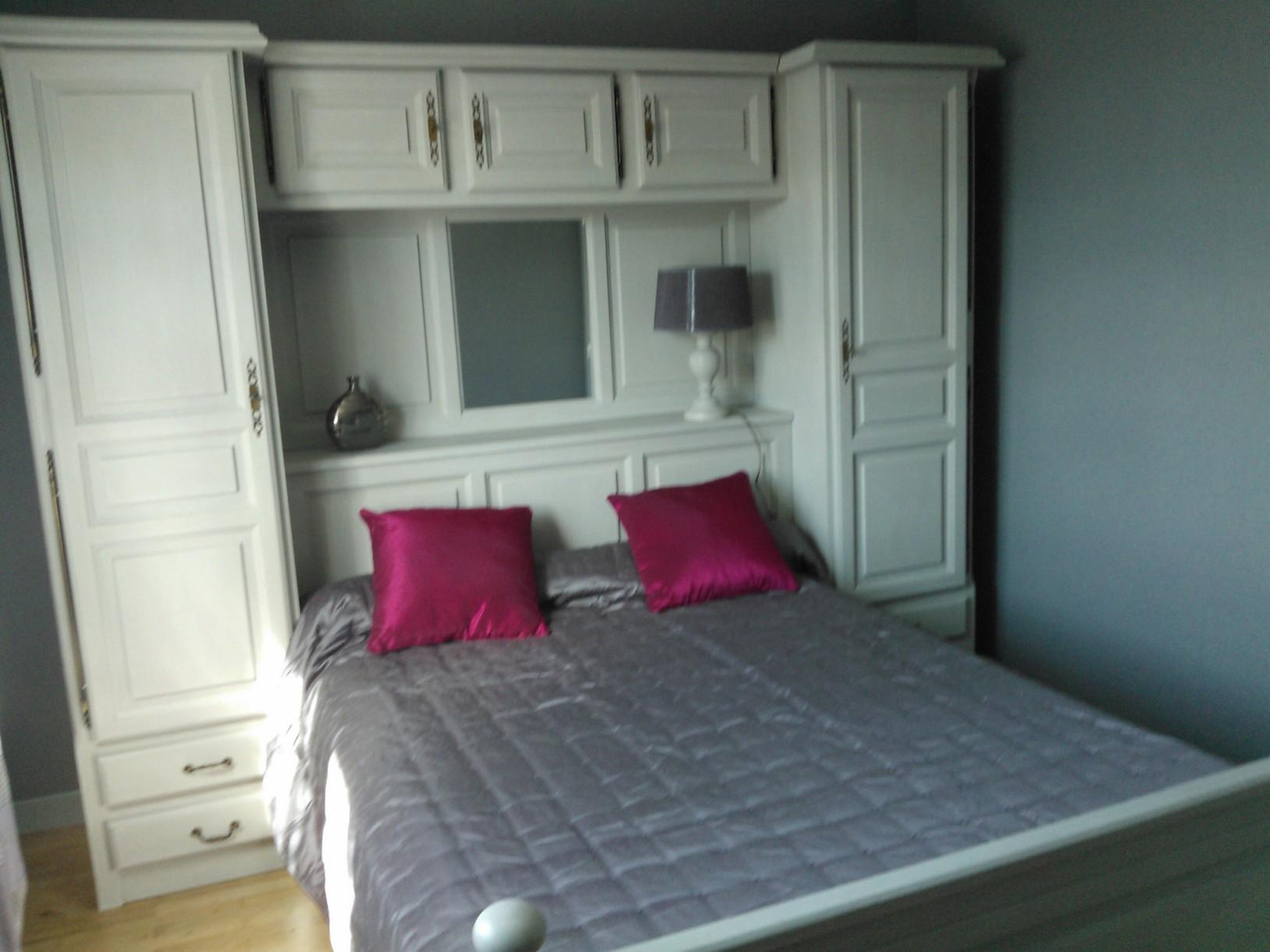 r alisation client chambre lit pont ateliercotedeco. Black Bedroom Furniture Sets. Home Design Ideas